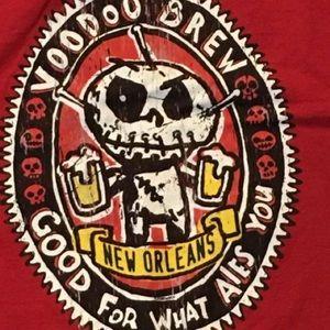 Vtg VooDoo Brew Bar New Orleans NOLA T-shirt XXL